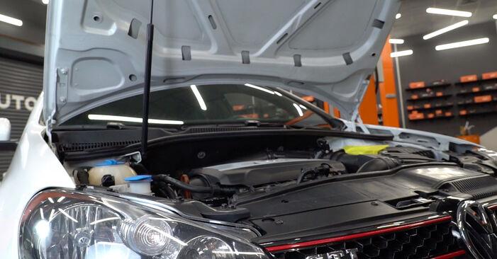 Comment changer Amortisseurs sur VW Golf VI 2007 - Manuels PDF et vidéo gratuits
