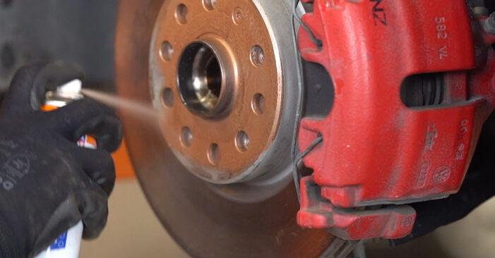 Combien de temps dure le remplacement : Amortisseurs sur VW Golf VI 2009 - manuel PDF informatif