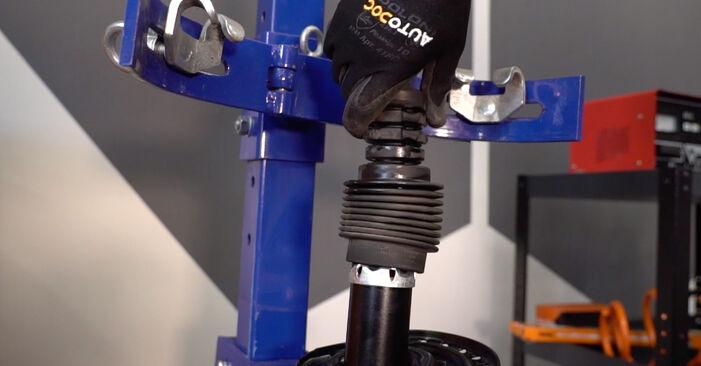 MEGANE II седан (LM0/1_) 1.4 2012 Пружинно окачване наръчник за самостоятелна смяна от производителя