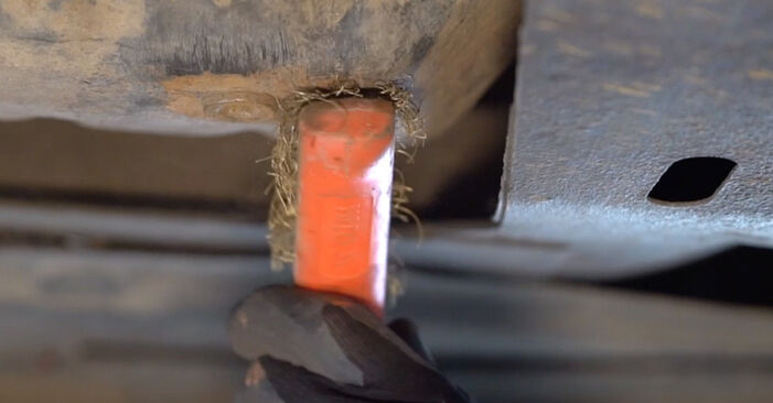 Ölfilter am RENAULT KANGOO (KC0/1_) 1.9 dCi 4x4 2002 wechseln – Laden Sie sich PDF-Handbücher und Videoanleitungen herunter