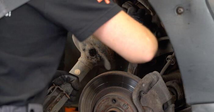 Schritt-für-Schritt-Anleitung zum selbstständigen Wechsel von Renault Kangoo KC 2010 1.2 16V Stoßdämpfer