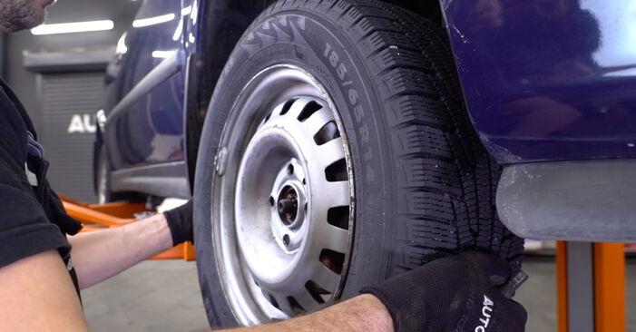 Austauschen Anleitung Stoßdämpfer am Opel Astra g f48 2008 1.6 16V (F08, F48) selbst