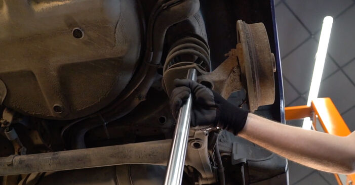 Ar sudėtinga pasidaryti pačiam: Opel Astra g f48 2.0 DI (F08, F48) 2004 Spyruoklės keitimas - atsisiųskite iliustruotą instrukciją