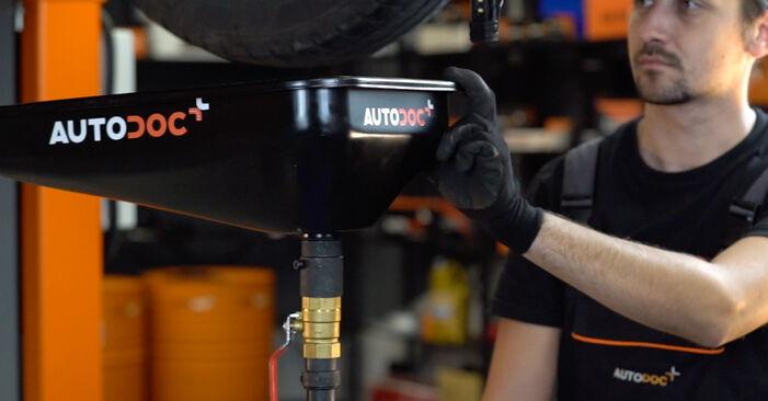 Byt Astra G CC (T98) 1.7 DTI 16V (F08, F48) 2009 Oljefilter – gör det själv med verkstadsmanual