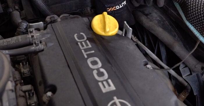 Byt Oljefilter på OPEL Astra G CC (T98) 2.0 DTI 16V (F08, F48) 2001 själv