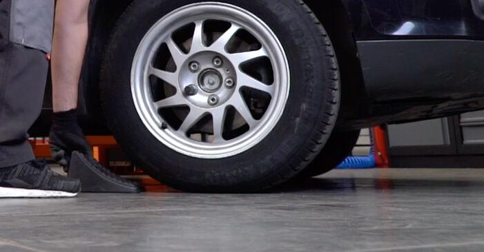 Focus II Limousine (DB_, FCH, DH) 1.6 Ti 2016 1.8 TDCi Stoßdämpfer - Handbuch zum Wechsel und der Reparatur eigenständig