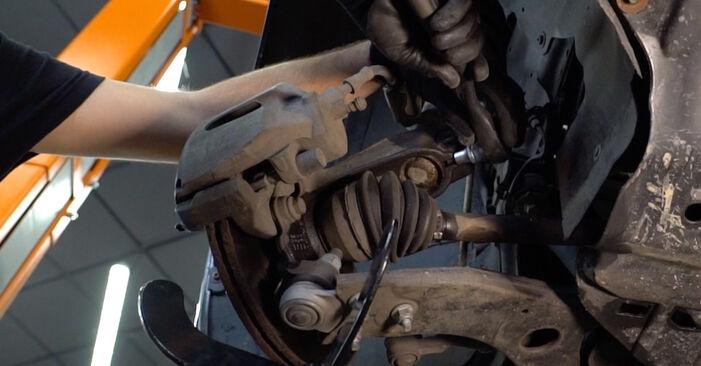 Wie schwer ist es, selbst zu reparieren: Federn Ford Focus mk2 Limousine 1.4 2004 Tausch - Downloaden Sie sich illustrierte Anleitungen