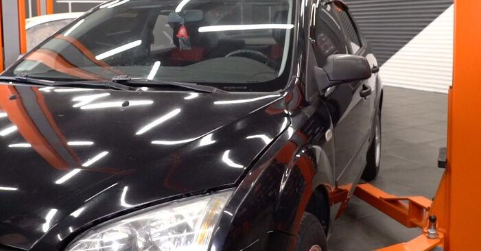 Schritt-für-Schritt-Anleitung zum selbstständigen Wechsel von Ford Focus mk2 Limousine 2006 1.6 Ti Federn