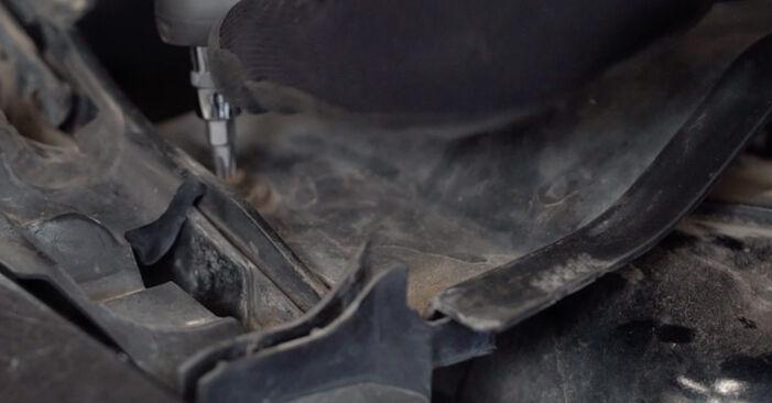Federn Ihres Ford Focus mk2 Limousine 1.6 TDCi 2006 selbst Wechsel - Gratis Tutorial