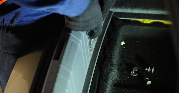 Wie BMW 3 SERIES 325i 2.5 2008 Stoßdämpfer ausbauen - Einfach zu verstehende Anleitungen online
