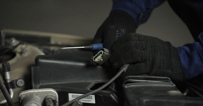 Slik skifte BMW 3 SERIES 325i 2.5 2008 Luftfilter – enkle instruksjoner på nettet som er lette å følge