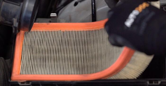 Luftfilter am BMW X5 (E53) 3.0 d 2005 wechseln – Laden Sie sich PDF-Handbücher und Videoanleitungen herunter