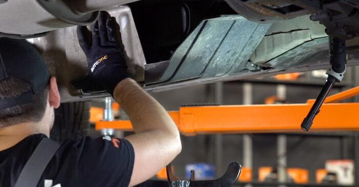 πώς αλλαγη BMW X5 4.8 is 2004 Φίλτρο καυσίμων -online ευκολονόητες οδηγίες