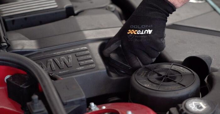 Ölfilter BMW e46 Cabrio 325Ci 2.5 2002 wechseln: Kostenlose Reparaturhandbücher