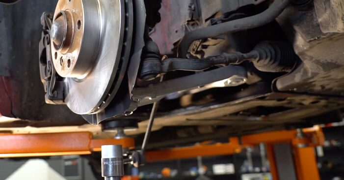 How to remove BMW 3 SERIES 323Ci 2.5 2004 Shock Absorber - online easy-to-follow instructions