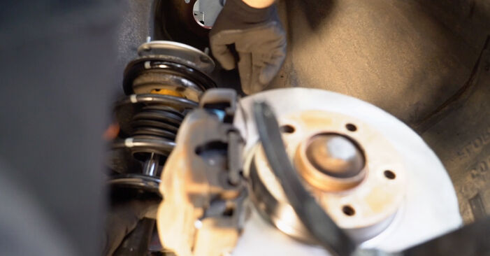Wie schwer ist es, selbst zu reparieren: Federn BMW e46 Cabrio 320Cd 2.0 2006 Tausch - Downloaden Sie sich illustrierte Anleitungen