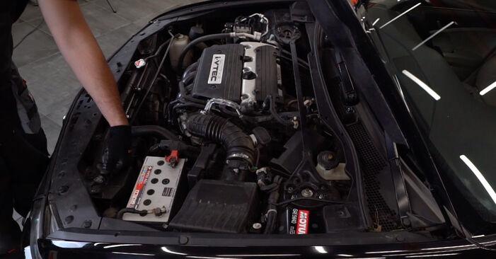 Wie Luftfilter Honda Accord VIII CU 2.0 i (CU1) 2008 tauschen - Kostenlose PDF- und Videoanleitungen