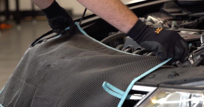 Bytte Oljefilter på Honda Accord VIII CU 2018 2.0 i (CU1) alene