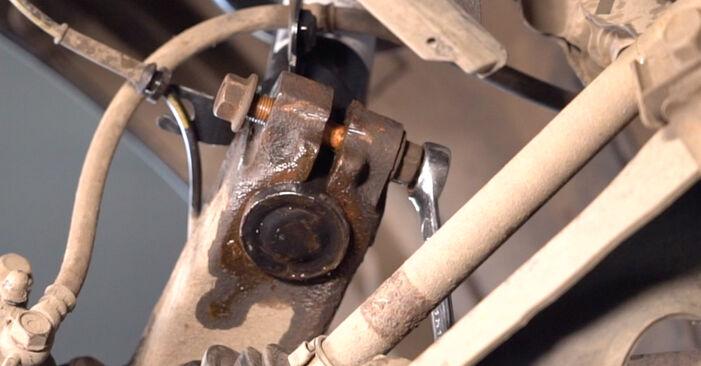 Federn beim TOYOTA AYGO 1.4 HDi 2012 selber erneuern - DIY-Manual