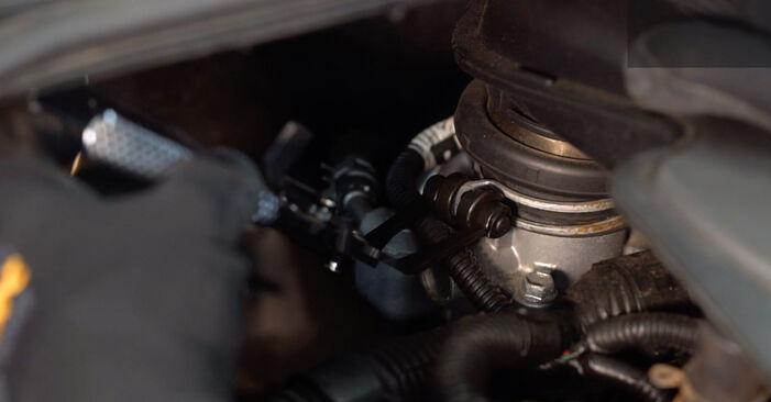 Remplacer Bougies d'Allumage sur Toyota Aygo ab1 2005 1 par vous-même