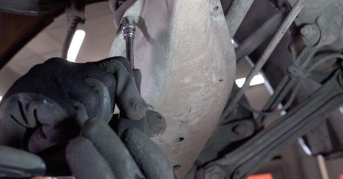 Federn am MERCEDES-BENZ E-Klasse Limousine (W210) E 270 CDI 2.7 (210.016) 2001 wechseln – Laden Sie sich PDF-Handbücher und Videoanleitungen herunter