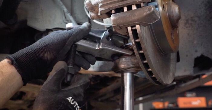 Wie man BMW 3 Touring (E46) 320d 2.0 1999 Stoßdämpfer wechselt - Schritt-für-Schritt-Leitfäden und Video-Tutorials