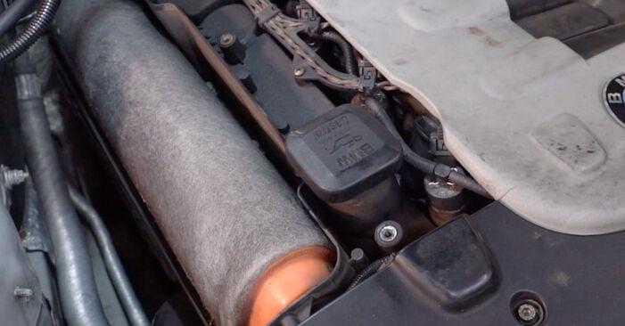 Zweckdienliche Tipps zum Austausch von Luftfilter beim BMW 3 Touring (E46) 330d 2.9 1999