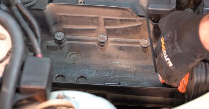 Wie Luftfilter BMW 3 Touring (E46) 320i 2.2 2000 austauschen - Schrittweise Handbücher und Videoanleitungen