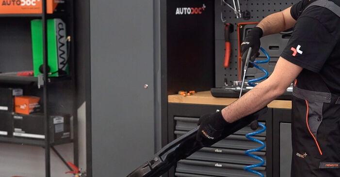 BMW 3 SERIES 320d 2.0 Luftfilter ausbauen: Anweisungen und Video-Tutorials online