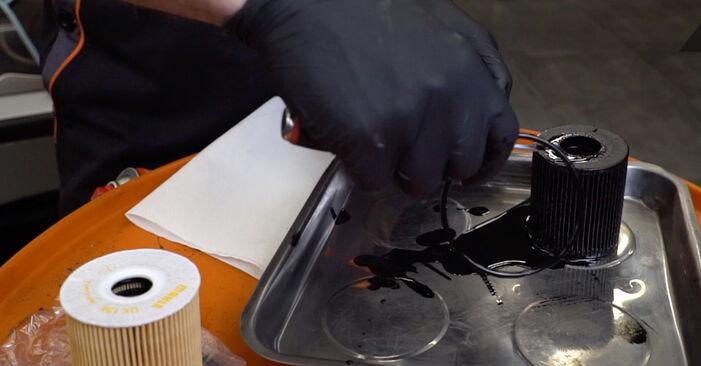 3 Touring (E46) 330d 3.0 2003 Filtre à Huile manuel d'atelier pour remplacer soi-même