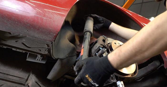 Naredite sami zamenjavo BMW 3 Cabrio (E46) 325Ci 2.5 2006 Blazilnik - spletni vodič