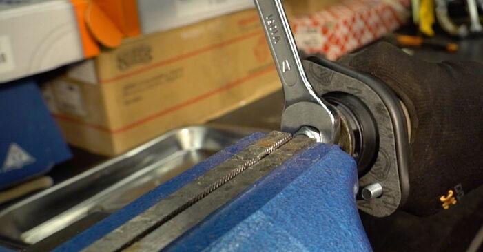 BMW 3 SERIES 2007 Blazilnik priročnik za zamenjavo s koraki