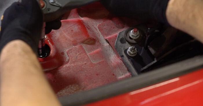 Zamenjajte Blazilnik na BMW 3 Cabrio (E46) 318Ci 2.0 2003 sami