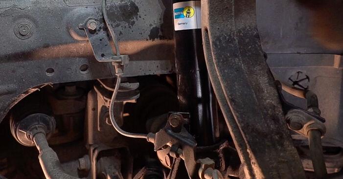 Wie Federn Honda Accord VIII CU 2.0 i (CU1) 2008 tauschen - Kostenlose PDF- und Videoanleitungen