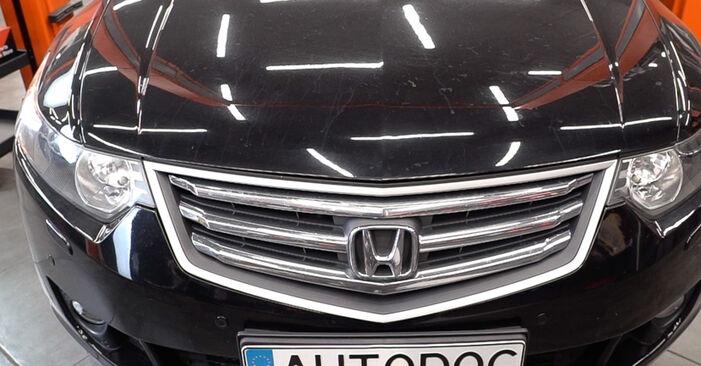 Austauschen Anleitung Federn am Honda Accord VIII CU 2018 2.0 i (CU1) selbst