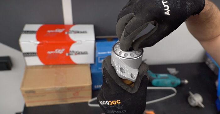 Смяна на Skoda Fabia 6y5 1.9 TDI 2002 Амортисьор: безплатни наръчници за ремонт
