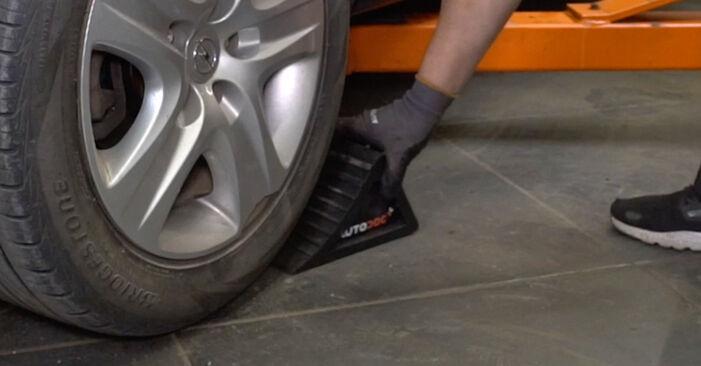 Bremsscheiben am OPEL Astra H Limousine (A04) 1.4 (L69) 2012 wechseln – Laden Sie sich PDF-Handbücher und Videoanleitungen herunter