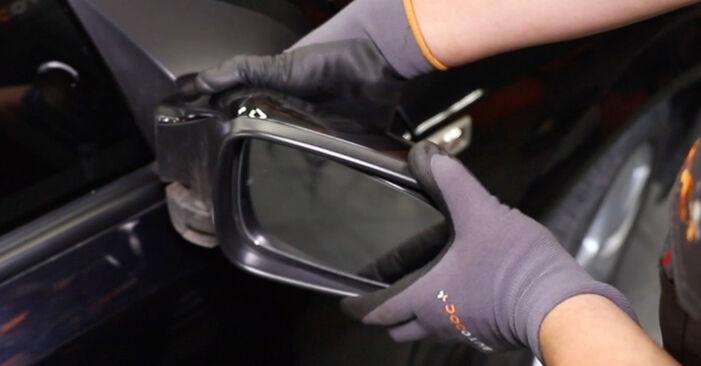 Wie Spiegelglas Opel Astra H Limousine 1.6 (L69) 2007 tauschen - Kostenlose PDF- und Videoanleitungen