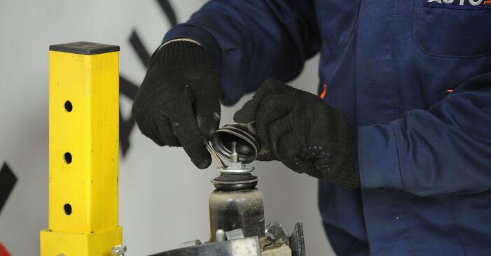 Austauschen Anleitung Stoßdämpfer am Dodge Caliber SRT4 2016 2.0 CRD selbst