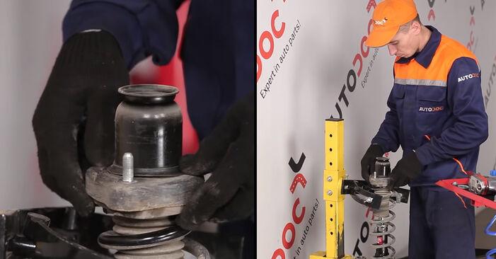 Wechseln Stoßdämpfer am DODGE CALIBER 2.4 Turbo 2009 selber