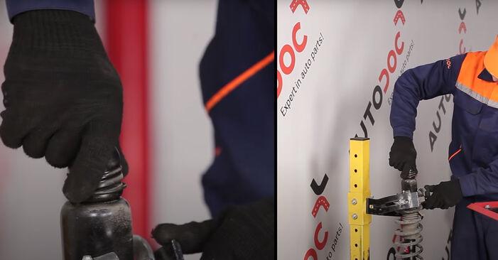 Wie schwer ist es, selbst zu reparieren: Stoßdämpfer Dodge Caliber SRT4 2.4 SRT4 AWD 2012 Tausch - Downloaden Sie sich illustrierte Anleitungen