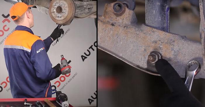 Stoßdämpfer beim DODGE CALIBER 2.4 AWD 2013 selber erneuern - DIY-Manual