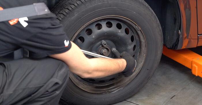 Wie schwer ist es, selbst zu reparieren: Spurstangenkopf Peugeot 406 Limousine 2.2 HDi 2001 Tausch - Downloaden Sie sich illustrierte Anleitungen