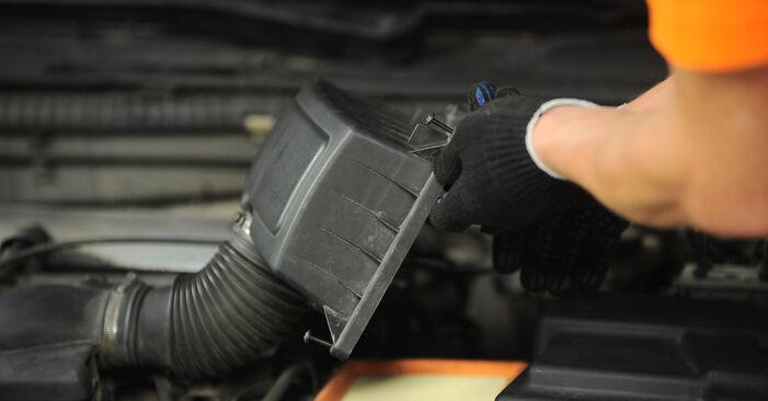 Luftfilter Ihres Peugeot 406 Limousine 2.0 HDI 110 2003 selbst Wechsel - Gratis Tutorial