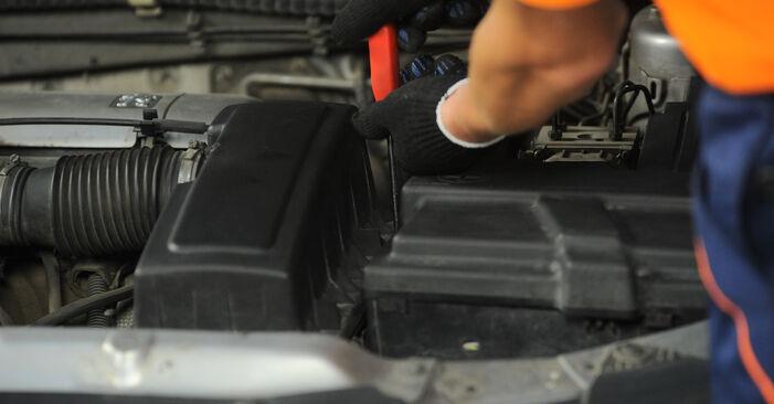 PEUGEOT 406 1.8 16V Luftfilter ausbauen: Anweisungen und Video-Tutorials online