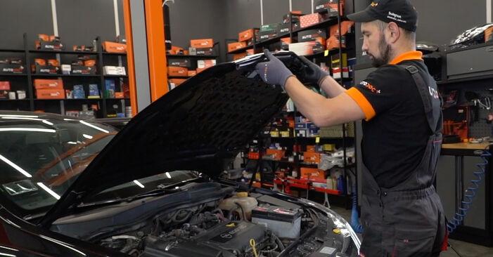 Wie Stoßdämpfer Opel Astra H Limousine 1.6 (L69) 2007 tauschen - Kostenlose PDF- und Videoanleitungen