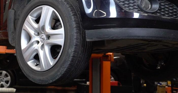 Wechseln Stoßdämpfer am OPEL Astra H Limousine (A04) 1.8 (L69) 2010 selber