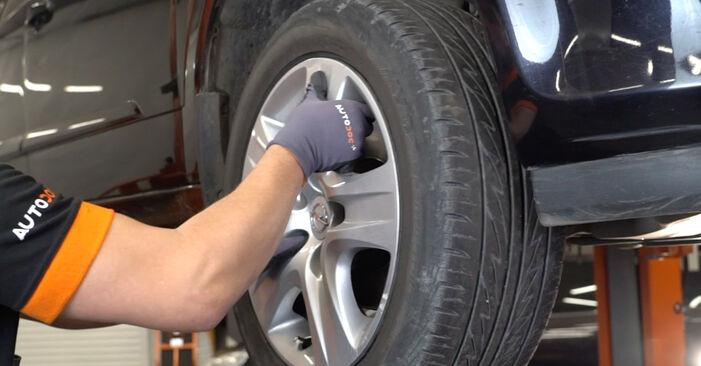 Stoßdämpfer am OPEL Astra H Limousine (A04) 1.4 (L69) 2012 wechseln – Laden Sie sich PDF-Handbücher und Videoanleitungen herunter