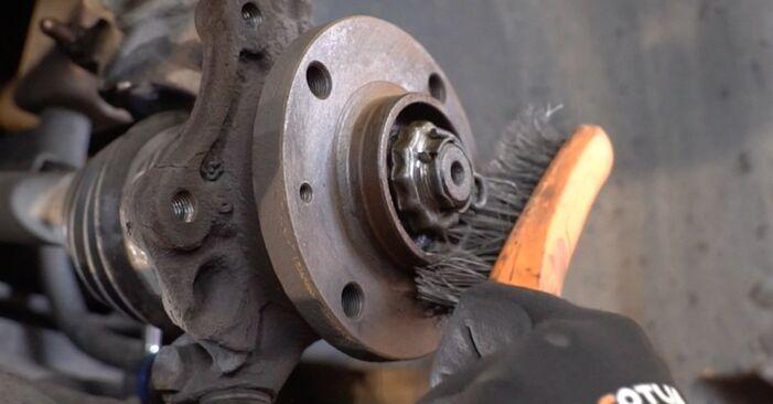 Bremsscheiben Peugeot 406 Limousine 2.0 HDI 90 1997 wechseln: Kostenlose Reparaturhandbücher