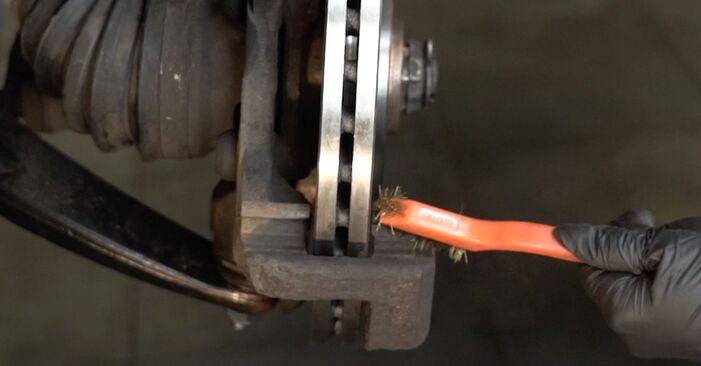406 (8B) 1.9 TD 1995 Plaquettes de Frein manuel d'atelier pour remplacer soi-même
